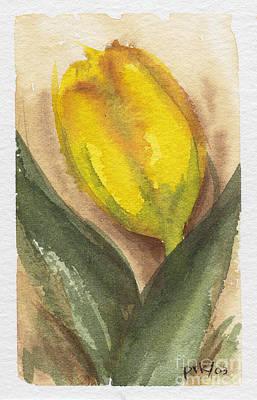Painting - Spring Tulip by Pat Katz