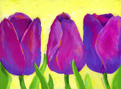Painting - Spring Tulips II by Stephen Anderson