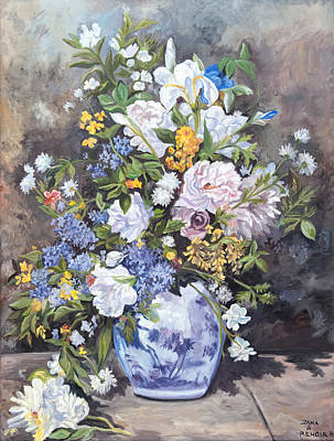 Painting - Spring Vase by Jana Goode
