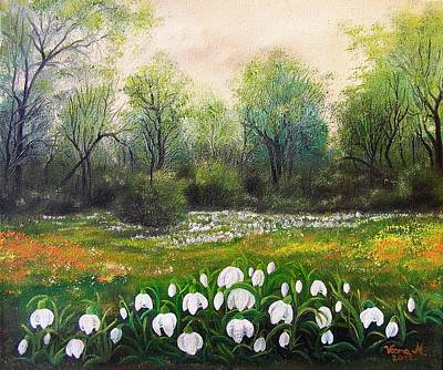 Painting - Spring by Vesna Martinjak