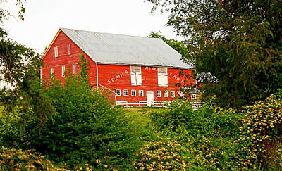 Photograph - Spring View Farm - Color by Kristia Adams