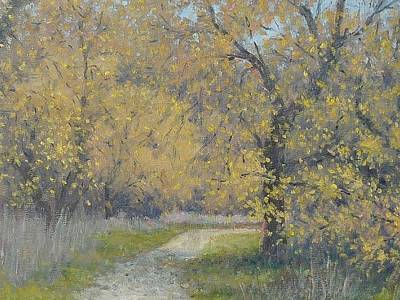 Painting - Spring Walk by Marv Anderson