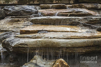 Photograph - Spring Waterfall 2 by Michael Waters