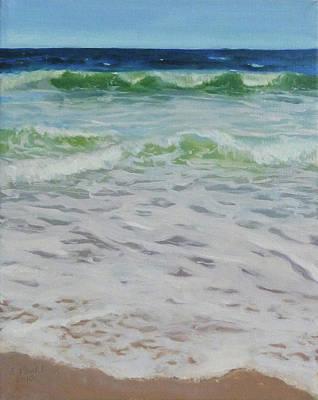 Spring Wave Art Print