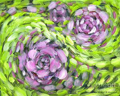 Painting - Spring Whirl by Holly Carmichael