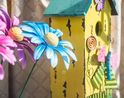 Photograph - Spring Window Display by Cheryl Baxter