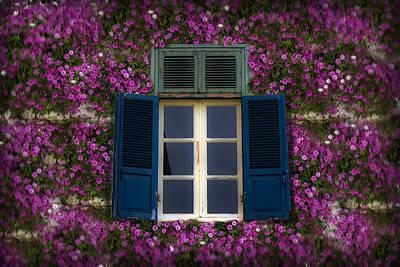 Photograph - Spring Window by Radoslav Nedelchev