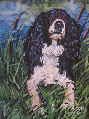 Painting - Springer Spaniel by Lee Ann Shepard