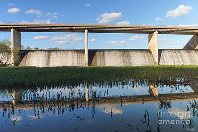 Photograph - Springfield Lake Missouri Dam by Jennifer White