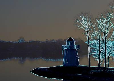 Photograph - Springfield Lighthouse by J R Seymour