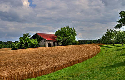Photograph - Springhill Farms by Jerry Gammon