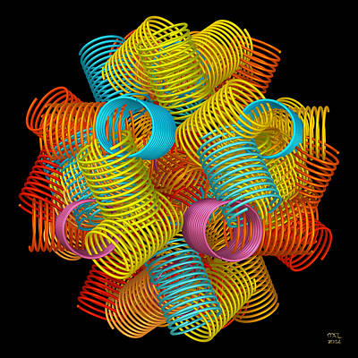 Digital Art - Springs by Manny Lorenzo