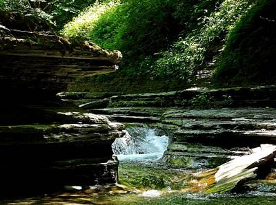 Art Print featuring the photograph Springs Of Living Water by Christian Mattison