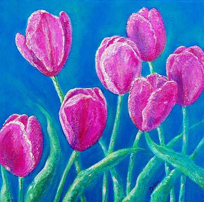 Painting - Spring's Surprise by Susan DeLain