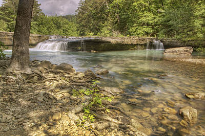 Photograph - Springtime At Haw Creek Falls - Ozarks - Arkansas by Jason Politte