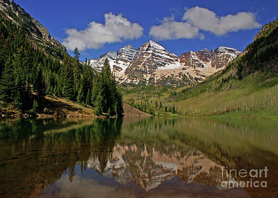 Photograph - Springtime At Maroon Bells by Kelly Black