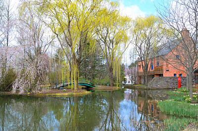 Grounds For Photograph - Springtime At The Grounds For Sculpture Near Trenton Nj by Bill Cannon