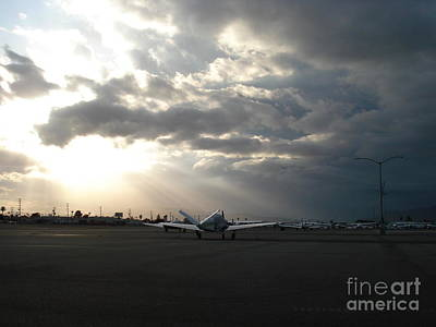 Whiteman Airport Photograph - Springtime At Whiteman by Linda De La Rosa