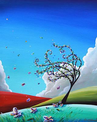 Illustrative Painting - Springtime by Cindy Thornton