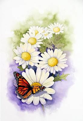 Painting - Springtime Daisies  by Brett Winn