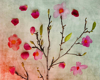 Painting - Springtime Flora by Linde Townsend