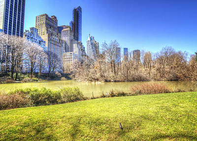 Finally Photograph - Springtime In Central Park by Vicki Jauron
