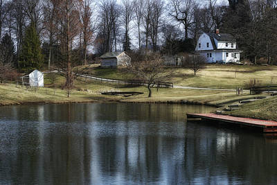 Tranquil Pond Photograph - Springtime In Ohio by Tom Mc Nemar