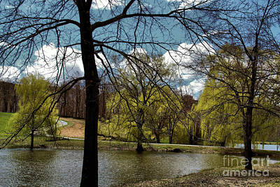 Springtime In The Country Art Print by Gemblue Photography