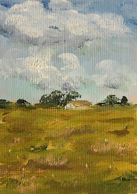 Painting - Springtime Meadow by Alan Mager