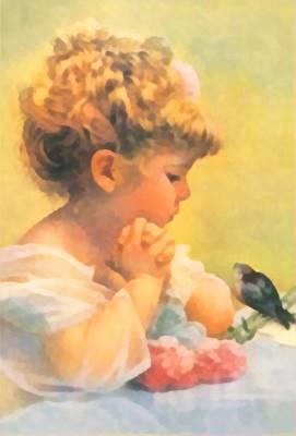 Baby Bird Digital Art - Springtime Of Life by Bessie Pease Gutmann