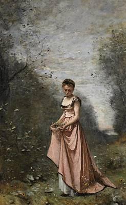 Springtime Of Life Art Print by Jean Baptiste Camille Corot