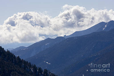 Steven Krull Royalty-Free and Rights-Managed Images - Springtime on Ute Pass by Steven Krull