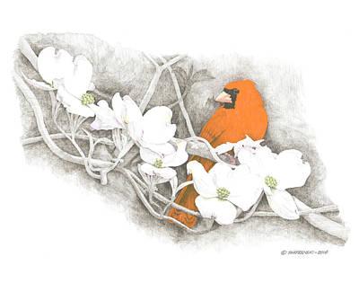 Wall Art - Drawing - Springtime by Paul Shafranski
