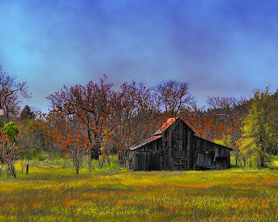 Photograph - Springtime Sonora Barn by William Havle