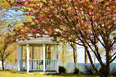 Springtime Southern Style Art Print by Dan Holland