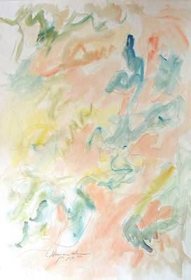 Painting - Springtime Suffusions by Esther Newman-Cohen