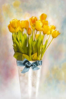 Floral Digital Art Digital Art - Springtime by Susan Candelario