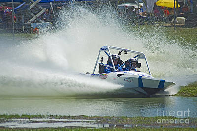 Speed Trials Photograph - Sprint Boat Racing by Nick  Boren