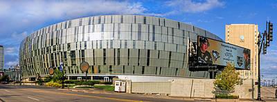 Kansas Photograph - Sprint Center Panoramic by Alan Hutchins