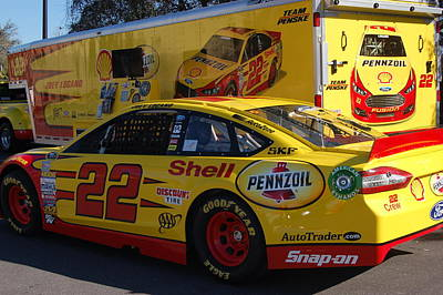 Photograph - Sprint Cup Series 22 by Christopher James