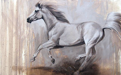 Horse Art Painting - Sprint by JQ Licensing