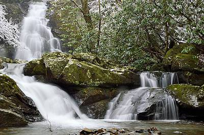 Photograph - Spruce Flats Falls #1 - Great Smoky Mountains National Park by Joel E Blyler