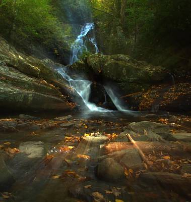 Tremont Photograph - Spruce Flats Falls In October by Dan Sproul