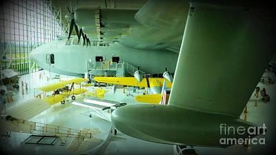 Spruce Goose Photograph - Spruce Goose by Susan Garren