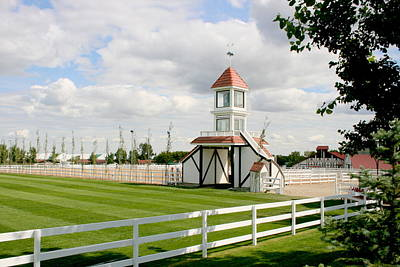 Photograph - Spruce Meadows Alberta by Betty-Anne McDonald