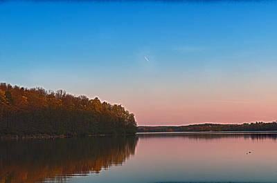 Spruce Sunset Art Print