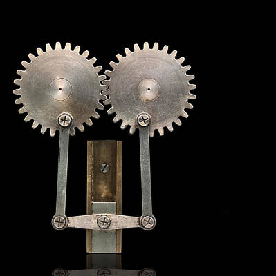 Book Illustrator Photograph - Spur Gears by Gary Warnimont