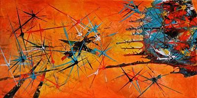 Crush Mixed Media - Sputnik Crush  by Devon Ingram