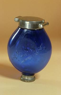 1870s Photograph - Sputum Flask by Science Photo Library