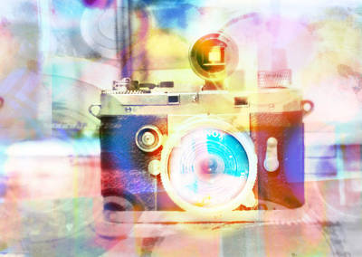 Digital Art - Spy Camera Art by Susan Stone